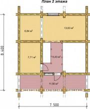 Проект Мираж - План 2 этажа